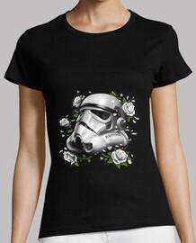 fantasma de la camisa para mujer del imperio trooper