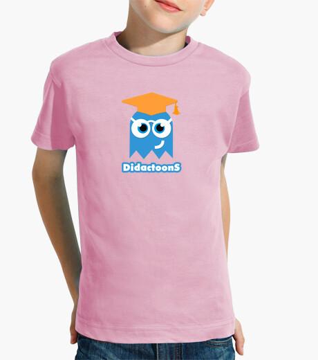 Ropa infantil Fantasma Didactoons - Camiseta Rosa Infantil