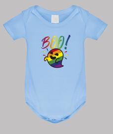 fantôme gaysper. corps de bébé, bleu clair