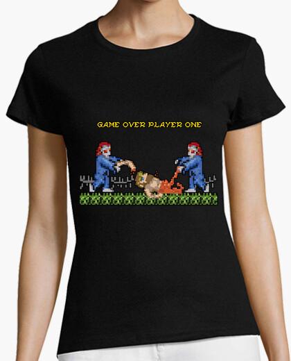 Tee-shirt fantômes et lutins - game over