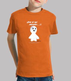 Fanty el fantasma camiseta niños