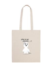fanty la borsa di cotone fantasma