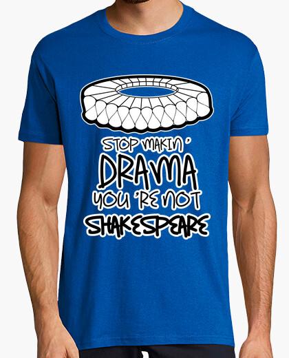 T-shirt fare dramma