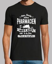 farmacéutico y motorista