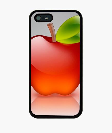 Funda iPhone Fashion red apple 5