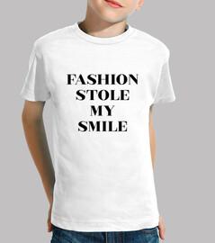 Fashion Stole My Smile