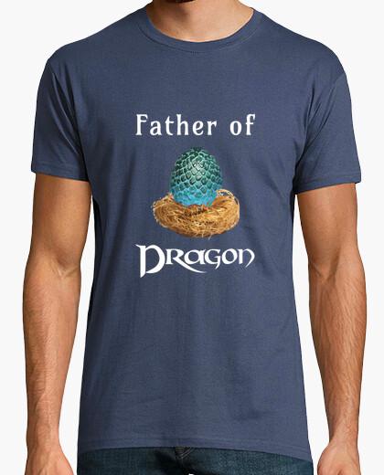 Camiseta Father Dragon (egg b w)