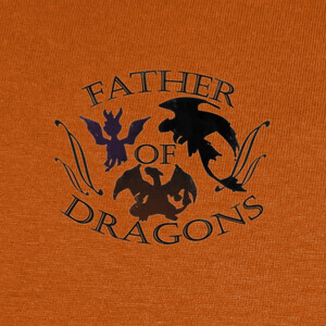 Camisetas father of dragons