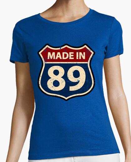 T-shirt fatto in 89