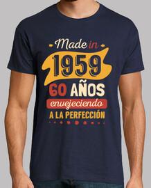 fatto nel 1959, 60 anni di invecchiamento alla perfezione