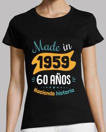 fatto nel 1959, 60 anni di storia