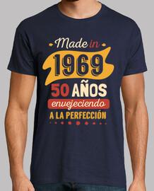 fatto nel 1969, 50 anni di invecchiamento alla perfezione
