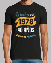 fatto nel 1978, 40 anni di storia