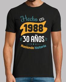 fatto nel 1988, 30 anni di storia