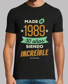 fatto nel 1989 30 anni sono incredibili