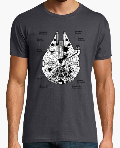 Tee-shirt Faucon millenium