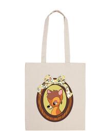 fawn cloth bag
