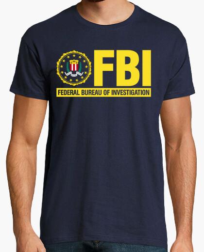 Tee-shirt fbi chemise mod.06