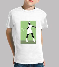 Federer silueta
