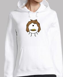Feeta - Jersey capucha chica