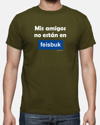 Camisetas Feisbuk blanco