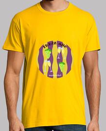 felice anno nuovo: t-shirt da uomo