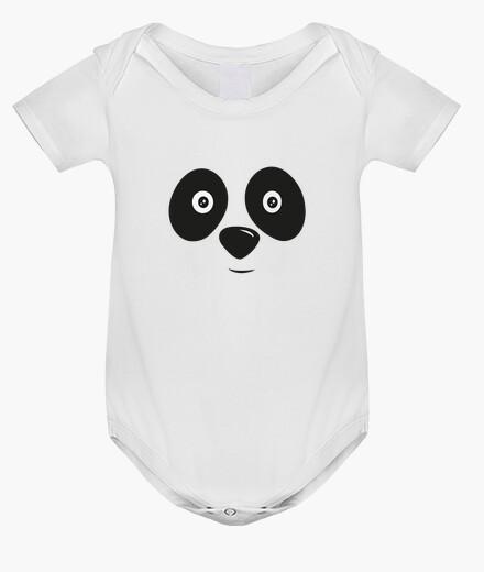 Abbigliamento bambino felice panda bear faccia