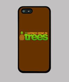 felicidad crece en los árboles
