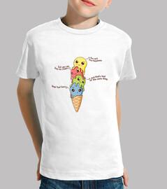 felicidad del helado