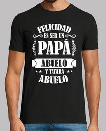 felicidad es ser un papa abuelo y tatar
