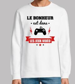 felicidad videojuegos gamer gaming