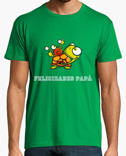 Camiseta Felicidades papá