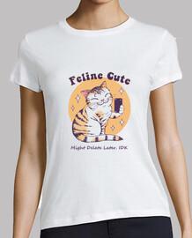 felina linda camisa de desafío para mujer