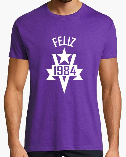 Camiseta Feliz 1984