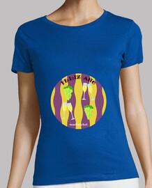 Feliz Año: camiseta mujer