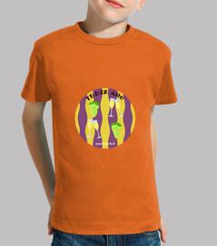 Feliz Año: camiseta niño o niña