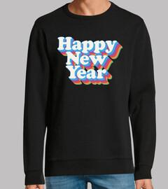 feliz año nuevo vintage