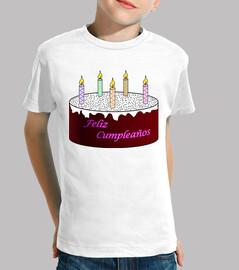 Feliz Cumpleaños - 5 años