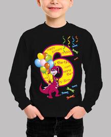 feliz cumpleaños número 6 dragón
