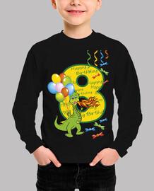 feliz cumpleaños número 8 dragón