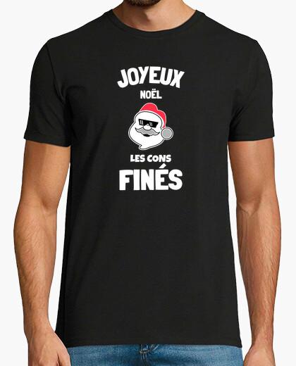 Camiseta feliz navidad confinado humor covid