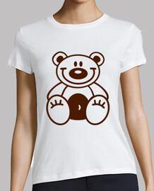 feliz oso de peluche