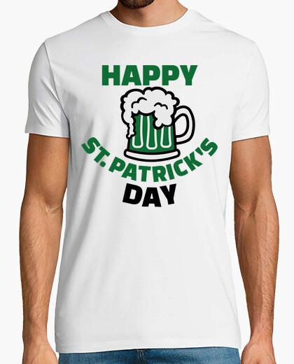 Camiseta feliz st. día de San Patricio