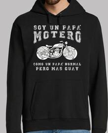 felpa papà biker
