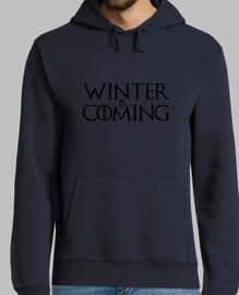 felpa winter sta arrivando - game of thrones