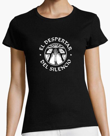 Camiseta Fem. Mangas Redondo Esfera Blanco El Despertar del S