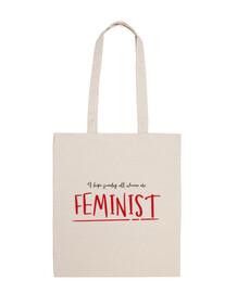 Feminist Bolsa de Algodón