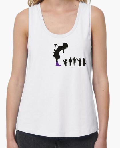 Camiseta Feminist Girl - Camisola Muller tirantes