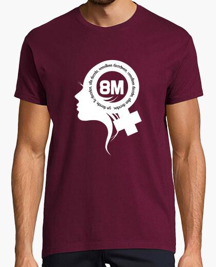 Camiseta Feminista 8M Blanco