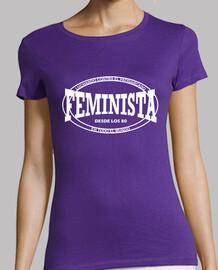 Feminista desde los años 80